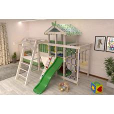 Домашний игровой комплекс чердак - кровать ДК2Б Бирюзовый