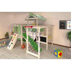 Домашний игровой комплекс чердак - кровать ДК3Б Бирюзовый