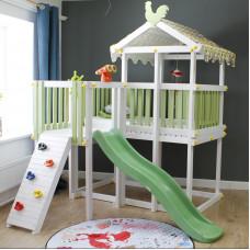 Домашний игровой комплекс чердак - кровать ДК4Б Бирюзовый