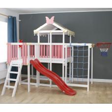 Домашний игровой комплекс чердак - кровать ДК5Р Розовый
