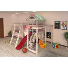 Домашний игровой комплекс чердак - кровать ДК1Р Розовый