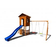 Детский игровой комплекс Можга СГ-И Спортивный городок Избушка