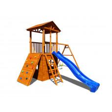 Детский игровой комплекс Можга СГ5-Р912-Д Спортивный городок 5 с качелями и домиком