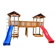 Детский игровой комплекс Можга СГ6 Спортивный  городок 6 Тент