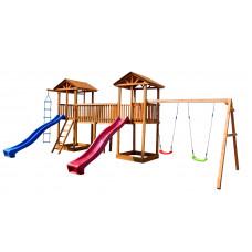 Детский игровой комплекс Можга СГ6-Р912 Спортивный городок 6 с качелями