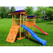 Детский игровой комплекс Можга СГ6-Р923 Тент с широким скалодромом