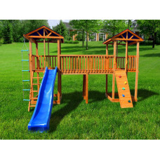 Детский игровой комплекс Можга СГ7-Тент Спортивный городок 7