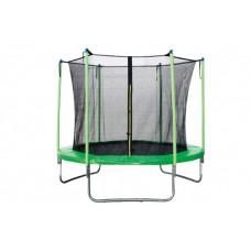 Батут с внутренней сеткой 180 см зеленый 6ft