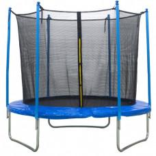 Батут с внутренней сеткой 180 см синий 6ft