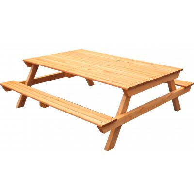 Стол-скамейка деревянная Р943-2