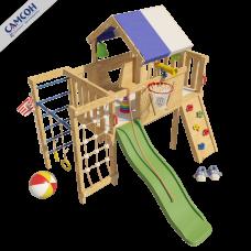 Домашний игровой комплекс чердак - кровать Винни