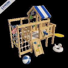 Домашний игровой комплекс чердак - кровать Дори