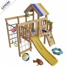 Домашний игровой комплекс чердак - кровать Немо