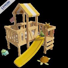 Домашний игровой комплекс чердак - кровать Скуби