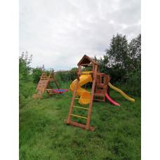 Детская игровая площадка Выше Всех Маугли с винтовой горкой