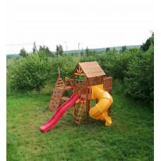 Детская игровая площадка городок Выше Всех Победа со спиральной горкой