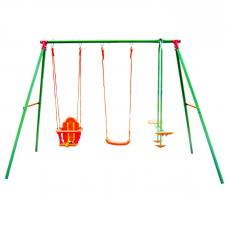 Детские уличные качели тройные DFC SGN-03