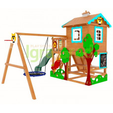 Детская игровая площадка IgraGrad Домик 2 Совенок
