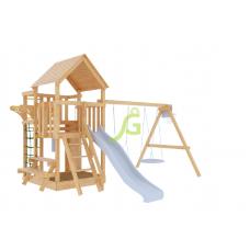 Детская игровая площадка IgraGrad Крафт Pro неокрашенная