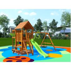 Детская игровая площадка IgraGrad Крафт Pro 3 со скатом 2,2 м