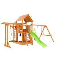 Детская игровая площадка IgraGrad Крафт Pro 4 со скатом 2,2 м