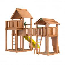 Детская игровая площадка городок Jungle Gym JB3 Монблан