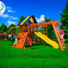 Детская игровая площадка New Sunrise Зарница премиум с рукоходом