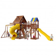 Детская игровая площадка New Sunrise Fort-6