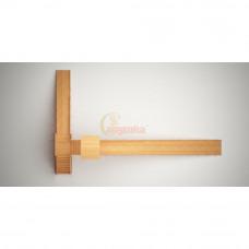 Зимняя деревянная горка Савушка Зима wood 10 неокрашенная